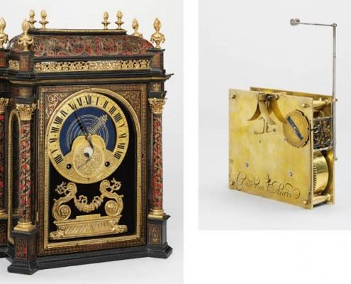 Antoine Gaudron - Astronomische Religieuse met Boulle Kast [ ca. 1685 ]