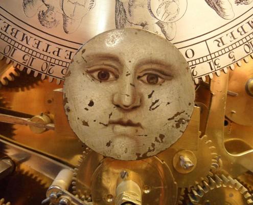 Staand 'Boulle' Horloge van Andries Vermeulen 1ste helft 18e eeuw