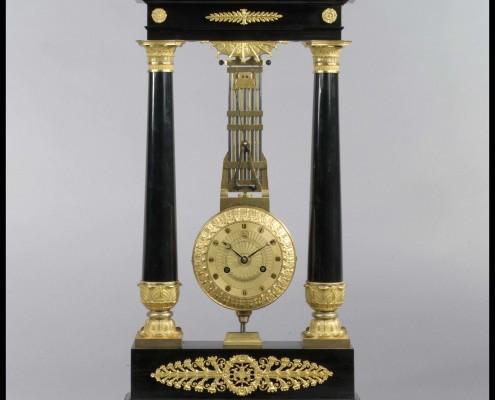 Franse Empire Pendule van Pierre-Victor Ledure begin 19e eeuw